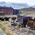 Ghost Mining Town Of Montana by Daniel Hagerman