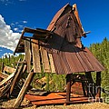 Ghost Of An A-frame by Adam Jewell
