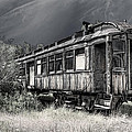 Ghost Passenger Train Coach by Daniel Hagerman