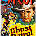 Ghost Patrol, Us Poster Art, Tim Mccoy by Everett