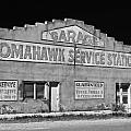 Ghost Sign Bw by Don Durante Jr