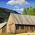 Ghost Town Barn And Stable by Lincoln Rogers