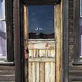 Ghost Town Handcrafted Door by Daniel Hagerman