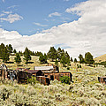 Ghost Town In Summer by Sue Smith