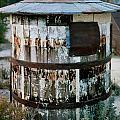Ghost Town Water Tank by Jeff K Floyd