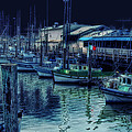 Ghostly Marina by Donna Blackhall