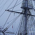 Ghostly Rigging In Snow by Marcus Dagan