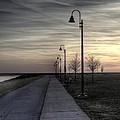 Ghostly Walkway by Jim Lepard