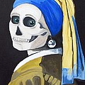 Ghoul With Pearl Earring by Katherine McElhinny