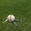 Giant Baseball by Diane Diederich