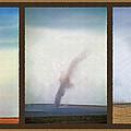 Giant Dust Devil Triptych by Steve Ohlsen