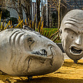 Giant Heads by Ron Pate