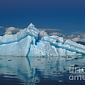 Giant Ice Floes by Ron Sanford