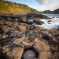 Giant's Causeway Circle Of Stones by Inge Johnsson