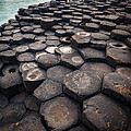 Giant's Causeway Pillars by Inge Johnsson