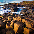 Giant's Causeway Surf by Inge Johnsson