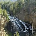 Gibbon River And Falls by Christiane Schulze Art And Photography