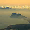 Gibraltar And Africa At Sunset by Guido Montanes Castillo