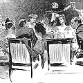 Gibson: Dinner Party, 1894 by Granger