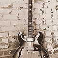 Gibson In Sepia by Paul Wilford