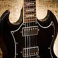 Gibson Sg Standard Brick by John Cardamone