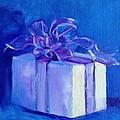 Gift In Blue by Carol Hopper