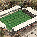 Gigg Lane - Bury by Kevin Fletcher