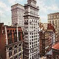 Gillender Building New York 1900 by Unknown
