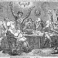 Gillray: Tavern, 1801 by Granger