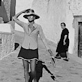 Ginette Camo In Patmos by Henry Clarke