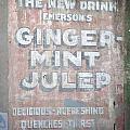 Ginger-mint Julep by Pamela Schreckengost