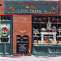 Gingerbread Bakery At Fox Creek by Catherine Holman