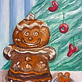 Gingerbread Cookies by Victoria Lakes