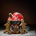 Gingerbread Family by Amanda Elwell