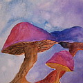 Gini's Shrooms by Beverley Harper Tinsley
