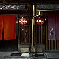 Gion Geisha District Doorways by Daniel Hagerman