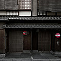 Gion Geisha District Of Kyoto Japan by Daniel Hagerman