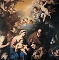Giordano Luca, Holy Family Venerated by Everett