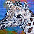 Giraffe - Baby Announcement by Ella Kaye Dickey