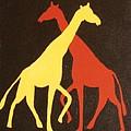 Giraffe by Graciela Castro