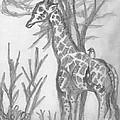 Giraffe by Mary Mikawoz