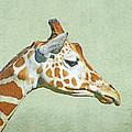 Giraffe Mug Shot by Lizi Beard-Ward