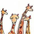 Giraffes by Max Hutcheson Age Eleven
