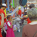Girl At Carnival Social Occasion Celebrations by Richard Morris
