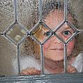 Girl At The Window by Bradley Bennett