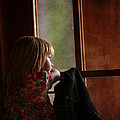 Girl At The Window by Guna Andersone