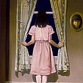 Girl At The Window by Robert Tracy