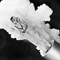 Girl Becomes Human Cannonball by Underwood Archives