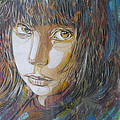 Girl By C215 by David Resnikoff