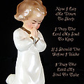 Girl Childs Bedtime Prayer by Kathy Clark